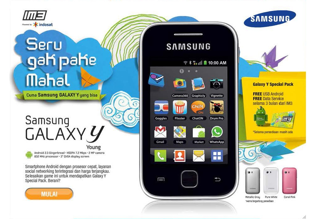 <h4><font style='font-weight: bold;color:#fff;'>Samsung microsite</font></h4>Fun and addictive web based memory game to promote Samsung Galaxy Y brand.